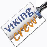 Viking Airlines Crew Tag